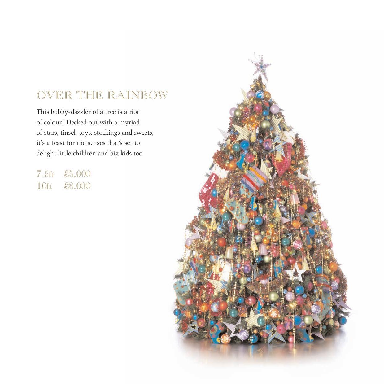 Harrods – Christmas tree brochure – Copy She Wrote